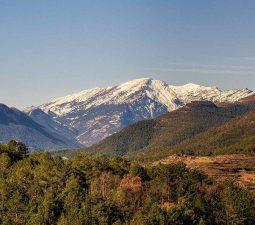 Zelten in den Pyrenäen