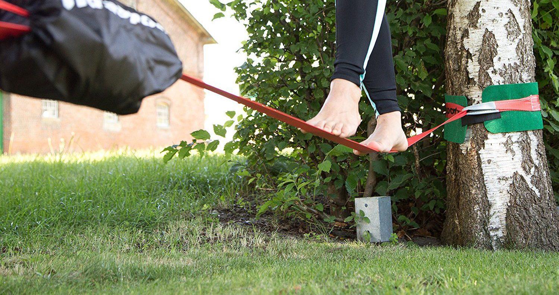 Slacklining: Tipps und erste Schritte