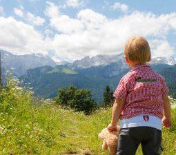 Outdoor-Ausrüstung für kleine Wanderer