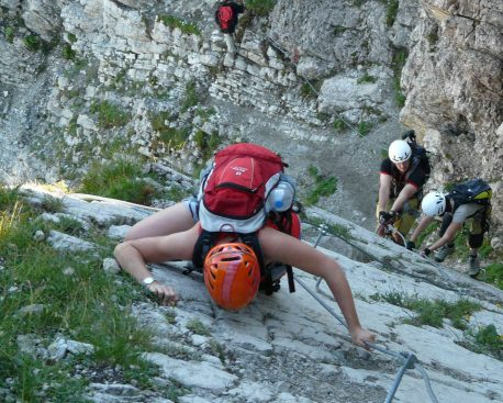 Die richtige Basis-Klettersteig-Ausrüstung zusammenstellen