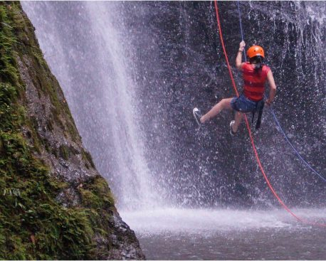 Was ist Canyoning?