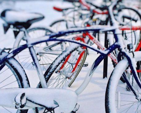 Wie Sie Ihr Fahrrad für den Winter rüsten