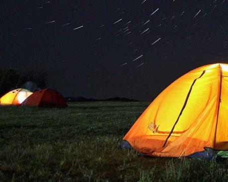 Zeltboden flicken – Was ein Zeltboden aushalten muss