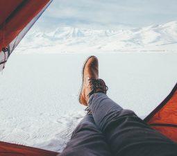 Camping im Winter: Tipps zum Wintercamping