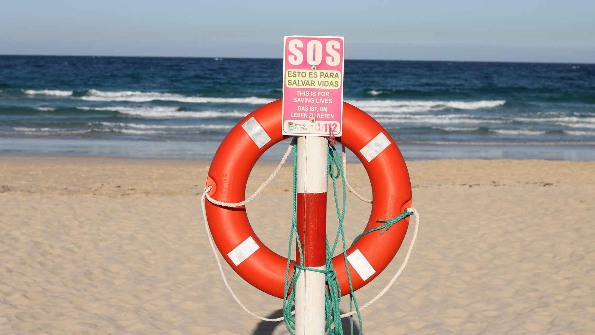 SOS Lichtzeichen: Notsignal senden