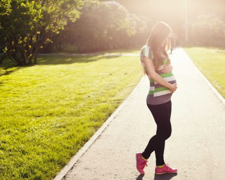 Outdoor-Sport trotz Schwangerschaft