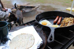 Essen kochen mit dem Campingkocher