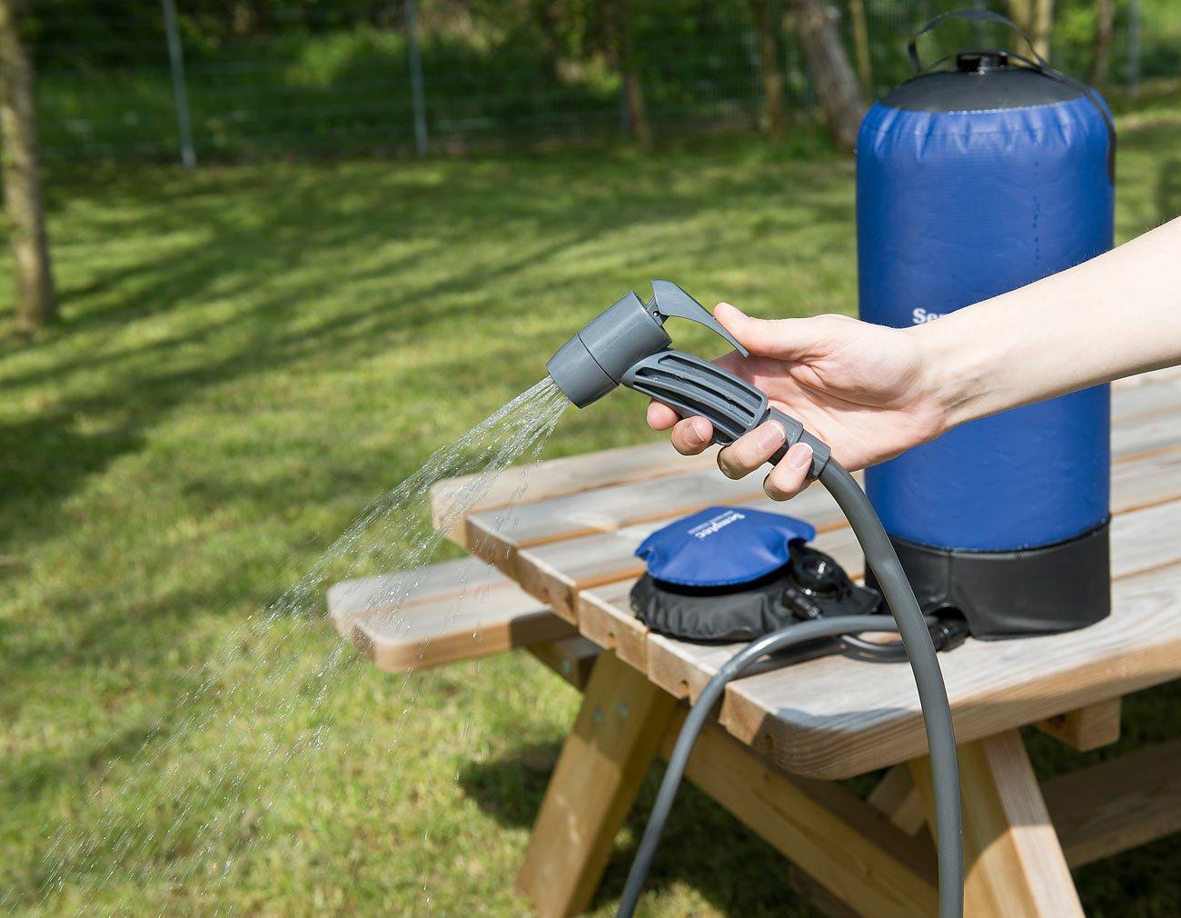 camping dusche körperpflege