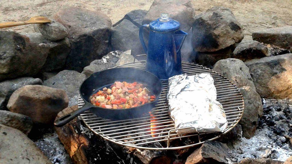 campingküche-outdoor