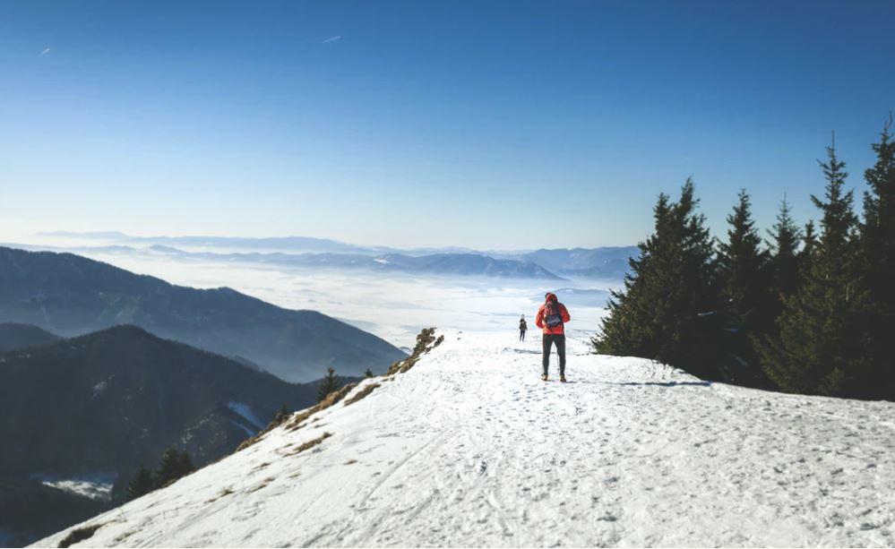 schnee-wandern